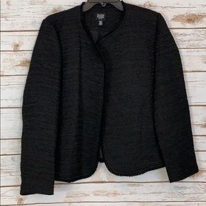 Eileen Fisher Black Blazer Jacket Medium petite